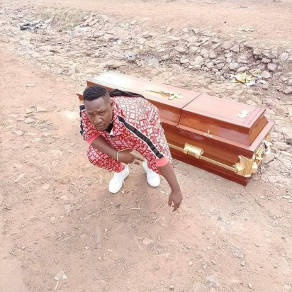 Kenyan Musician, Japesa Purchase His Own Coffin