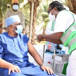 President Buhari's Chief Of Staff, Garba Shehu, Femi Adesina, Others Receive COVID-19 Vaccine