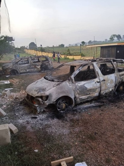 2 Police Officers Killed As Hoodlums Raze Anambra Police Zonal Headquarters