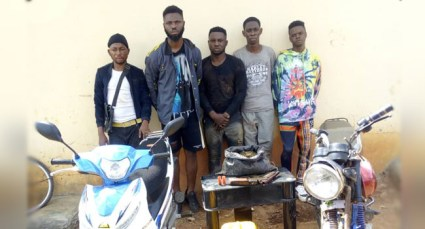 5 Suspected Cultists Arrested At Initiation Ground In Ekiti