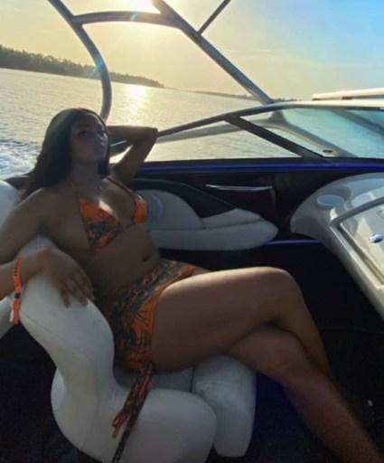 BBNaija Star, Kim Oprah Shares Lovely Swimwear Photos