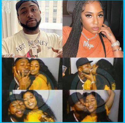 Davido Allegedly Dumps Chioma, Kisses Another Lover