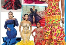 Ladies, Evening Gowns With Frills You Should Try