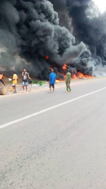 Many Feared Dead As Fuel Tanker Explodes In Benue State
