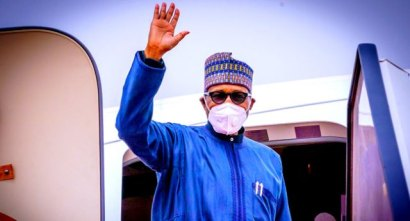 President Buhari Arrives In Nigeria From UK Medical Trip