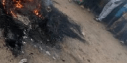 Prison Inmate Who Escaped During The Jailbreak In Imo Set Ablaze