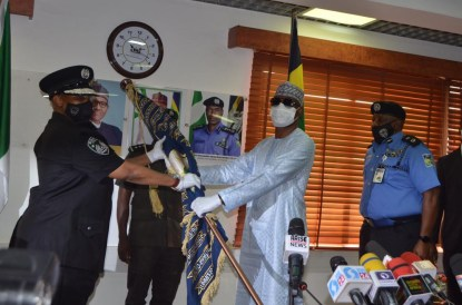See Photos As Adamu Mohammed Hands Over To Acting IGP Usman Alkali Baba