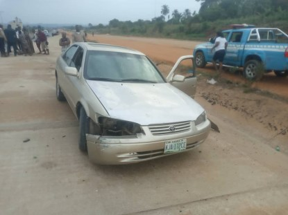 See Photos As Hit-And-Run Driver Kills A Child In Anambra State