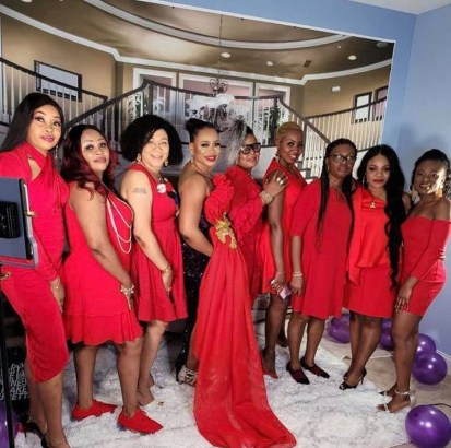 See Photos, Videos As Nigerian Lady Throws Party To Celebrate Her Divorce