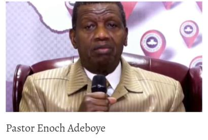 Why Federal Govt Suspended Adeboye's Helicopter From Flying