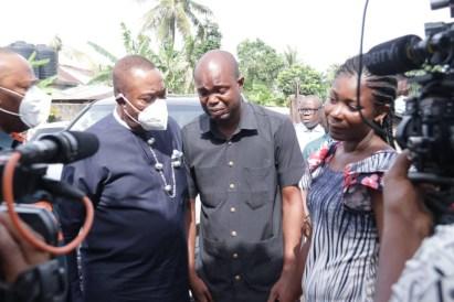 Akwa Ibom State Govt Pays Condolence Visit To Family Of Slain Job Seeker, Ini Umoren