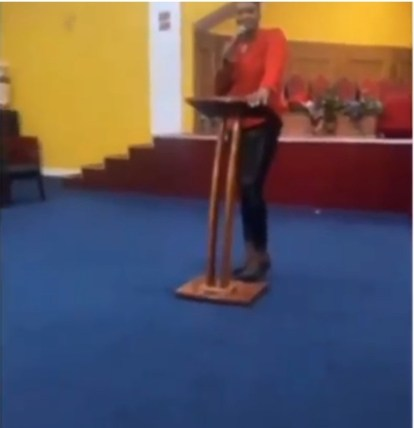 Female Pastor Curses Members For Not Donating Towards Her birthday Celebration