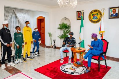 Governor Sanwo-Olu Hosts Ikorodu Bois
