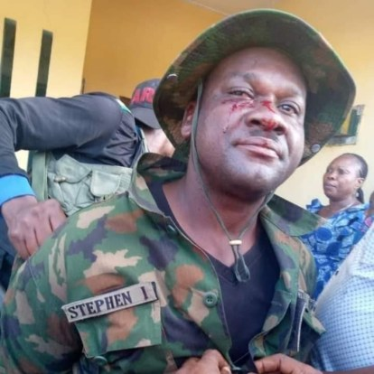 How Man In Army Uniform Killed Car Owner And Was Arrested In Akwa Ibom