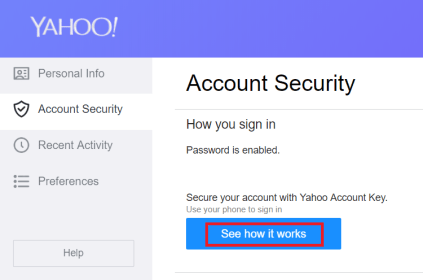 How To Reset Or Change Your Yahoo Mail Password