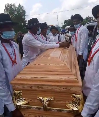 Photos From The Burial Of Comedienne, Ada Jesus
