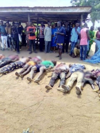 Suspected Fulani Herdsmen Slaughter 36 Persons Including Students In Benue Community