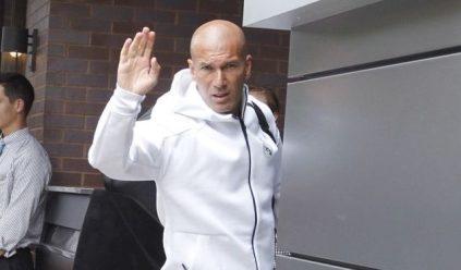 Zidane Leaves Real Madrid As Coach