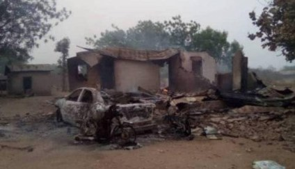 10 Killed, Vehicles, Houses, Petrol Station Razed As Suspected Fulani Herdsmen Attack Community In Oyo State