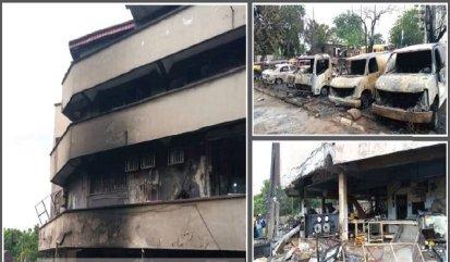 5 Confirmed Dead, 25 Vehicles Burnt In Lagos Tanker Fire