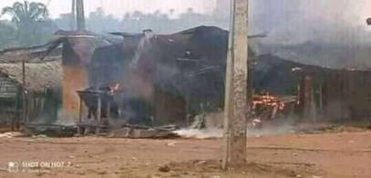 7 Soldiers Killed In Clash With Gunmen, Houses Burnt In Abia Community