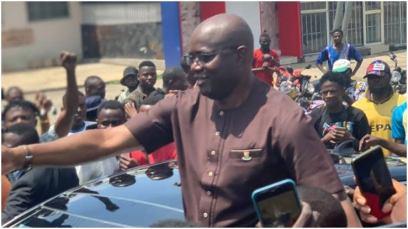 Gov Seyi Makinde Joins #June12thProtest In Ibadan