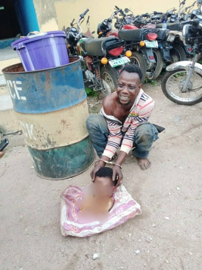 Man Arrested For Cutting A Lady's Body Into Parts In Osun
