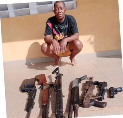 Police Arrest Nollywood Producer, Omoruyi With Guns In Delta