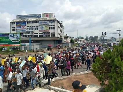 Protest Against Killings By Unknown Gunmen Rocks Imo State