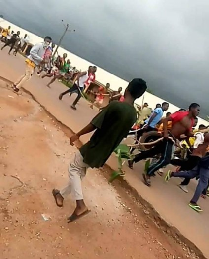 Security Operatives Open Fire On Students Protesting Tuition Hike In Kaduna