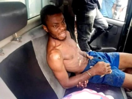 See Photos As Man Beheads His Aunt, Buries Her Body In Shallow Grave In Cross River