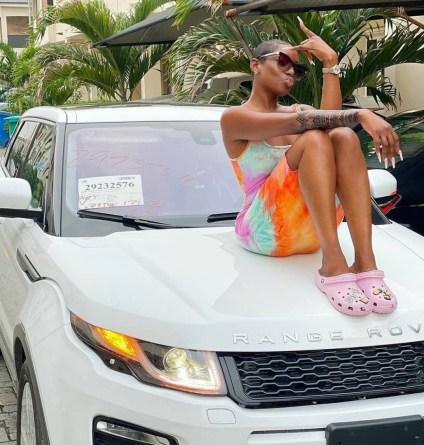 See Photos, Video As Actress Dorcas Fapson Acquires Range Rover