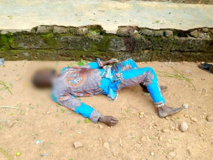Youths Raze Houses, Hotels, Shrine Belonging To Prominent Chief After Stray Bullet Killed Resident In Oyo Community