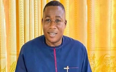 Beninese Operatives Interrogate Sunday Igboho, Wife