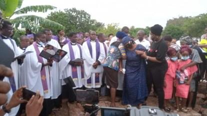 Journalist, Olubunmi Bamidele Afuye Killed During Ondo Bank Robbery Buried
