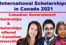 Most Popular Scholarships in Canada 2021