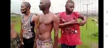 See Photos, Watch Video Of How Yoruba Nation Protesters Were Dispossessed Of Their Charms