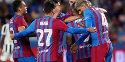 Barcelona Win First Post-Messi Match