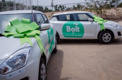 Bolt Introduces Cash Withdrawal Option For Drivers