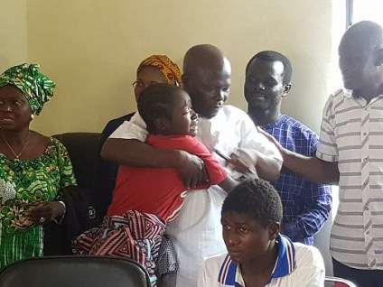Freed 15 Bethel Baptist Students Reunite With Families
