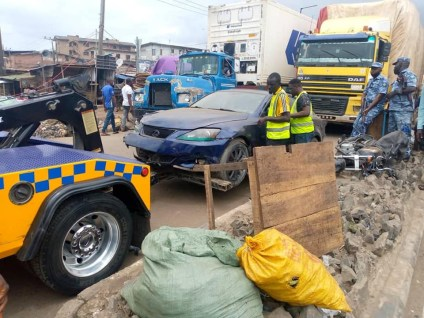 Little Girl, 5 Others Die In Lagos Road Accidents