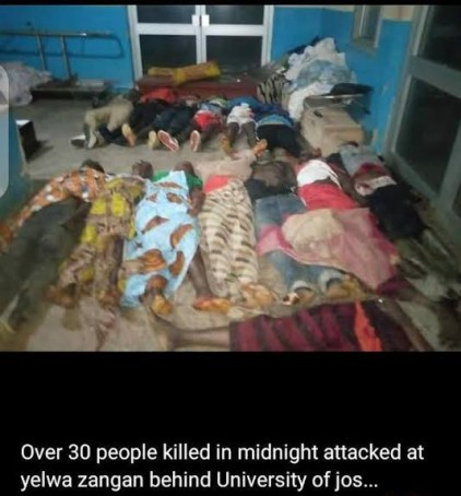 See Photos, Watch Video As Bandits Burn 36 Victims Alive While Sleeping In Plateau