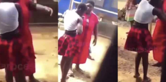 Watch The Moment A Woman Assaulted Her Husband's Side Chick For Sleeping With Him