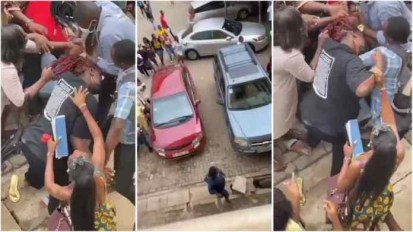 Watch Video As 2 Female Students Fight Over A Man