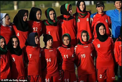 Afghanistan: Women Footballers Evacuated Due To Taliban Invasion