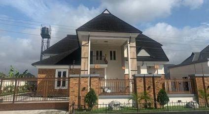 Actor Bishop Umoh (Okon Lagos) Shows Off His New House