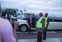 Founder Of Deeper Life Bible Church, Pastor Kumuyi Arrives Crusade In A Limousine Car, Nigerians Reacts
