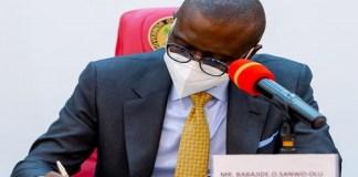 Gov Sanwo-Olu Signs VAT Bill Into Law