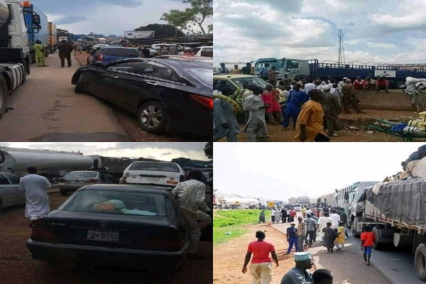 More Pain For Motorists As Road Block Enters Day 3 In Minna