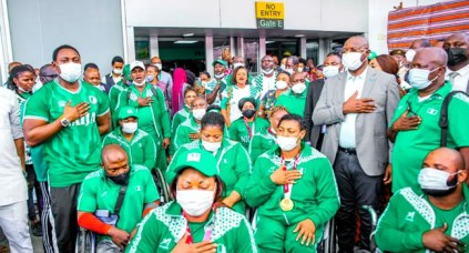 Nigeria Ranked 3rd Best African Team After Finishing With 10 Medals At Tokyo Paralympics